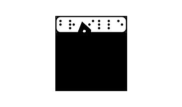 Kép: braille írás ikon