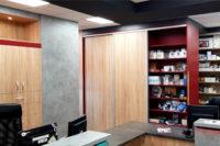 az új szolgáltató központ irodája