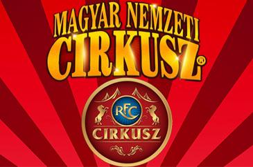 magyar nemzeti cirkusz és a richter flórián cirkusz logója