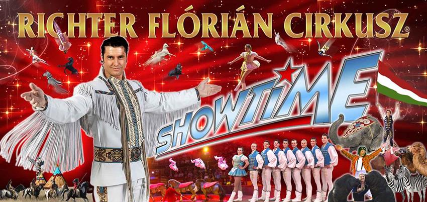 richter flórián cirkusz plakátja