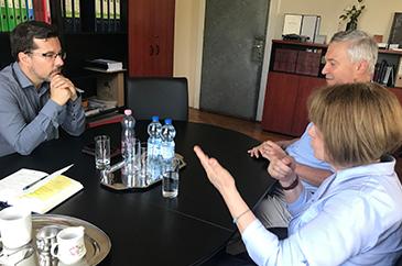 A képen Dr. Tapolczai Gergely és Dr. Nagy Sándor látható.