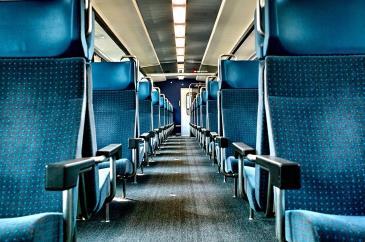 vonat ülések
