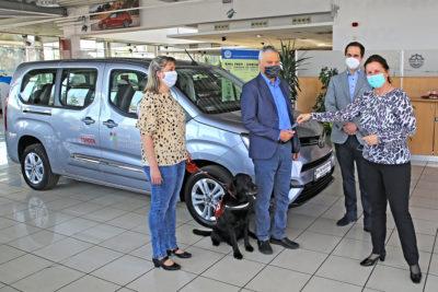 Toyota kulcsátadó